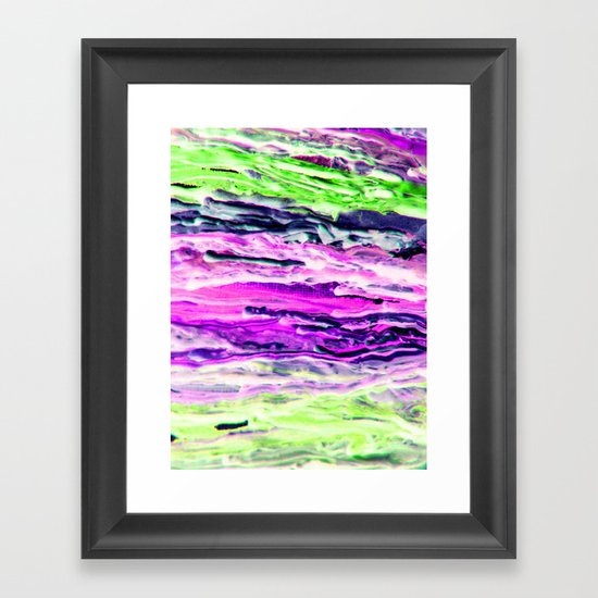 Wax #4 Framed Art Print