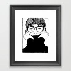 Inktober 06_2016 Framed Art Print