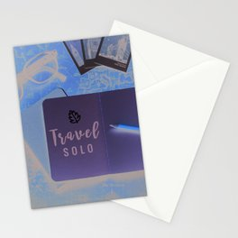 Travel Solo Stationery Cards