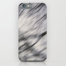 Blurry Tree Branches  iPhone 6s Slim Case
