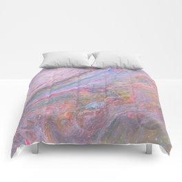 Pink Galaxy Comforters
