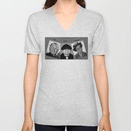 The Three Stooges Unisex V-Neck