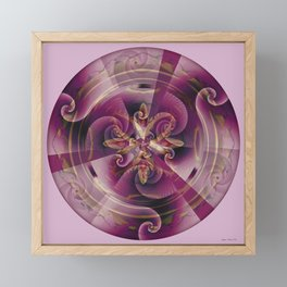 Mandalas of Healing and Awakening 11 Framed Mini Art Print