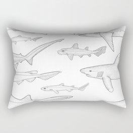 Out for a Swim Rectangular Pillow