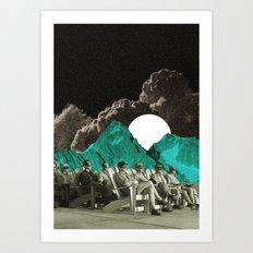 Space show Art Print