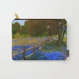 Bluebonnet season in Texas Carry-All Pouch