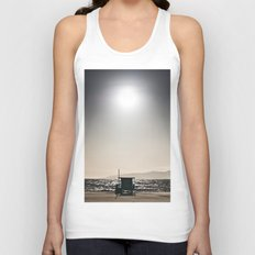 Venice Beach California Guard Tower Unisex Tank Top