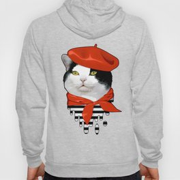 cat Frenchman Hoody