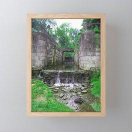 Side Cut Symphony Framed Mini Art Print