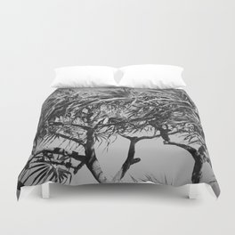 Mahama Lauhala Hala Trees Pandanus Duvet Cover