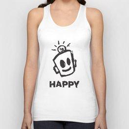 HAPPY  Unisex Tank Top