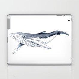 Baby humpback whale (Megaptera novaeangliae) Laptop & iPad Skin