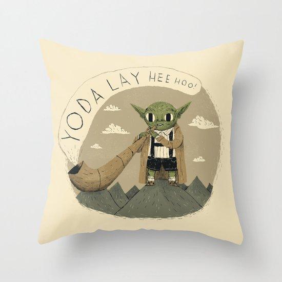 yodaling  Throw Pillow