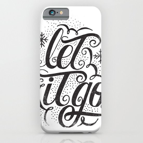 let it go iPhone & iPod Case