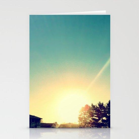 Sun. Stationery Cards