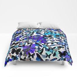Borboletas Azuis  Comforters