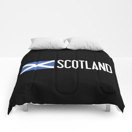 Scotland: Scottish Flag & Scotland Comforters