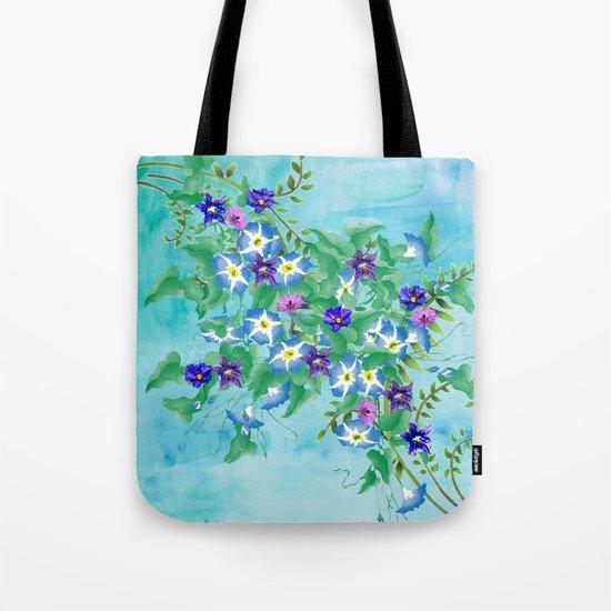 Watercolor Spring Bouquet  Tote Bag