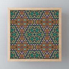 ethnic ornament 14 Framed Mini Art Print