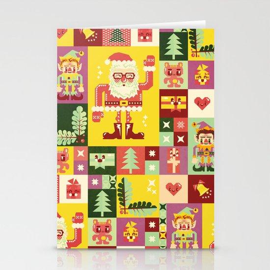 Christmas Geometric Pattern No. 1 Stationery Cards