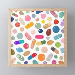 Sunny Pills Framed Mini Art Print