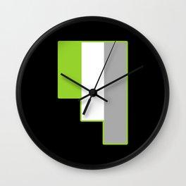 Grayromanticism Wall Clock