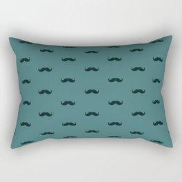 Mustache Pattern Rectangular Pillow