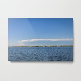 Thunderhead, Lake Sakakawea, North Dakota 3 Metal Print