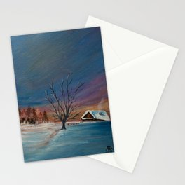 Winter Dawn Stationery Cards