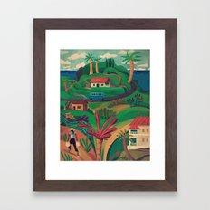 North Mahe, Seychelles Framed Art Print