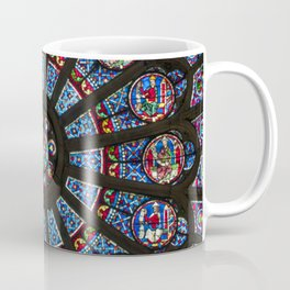 STAINED GLASS Notre Dame Cathedral Paris France Coffee Mug