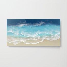 Venice Beach - 3D Resin Beach art Metal Print