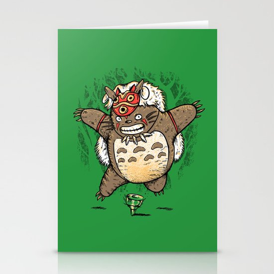 Totoroke Stationery Cards