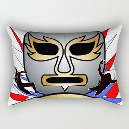 Lucha Champion Rectangular Pillow