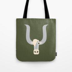 Letter Y // Animal Alphabet // Yak Tote Bag