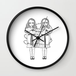 Come Play With Us Danny Wall Clock