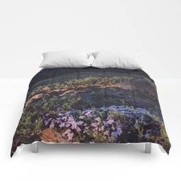Wildflowers at Dawn - Nature Photography Comforters