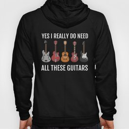 Guitar Player Funny Shirt Design Hoody