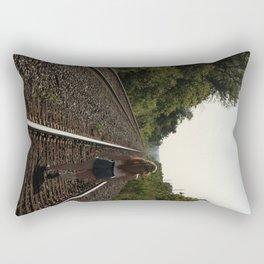 A Long Road Rectangular Pillow