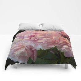 Pink Peony Passion Comforters