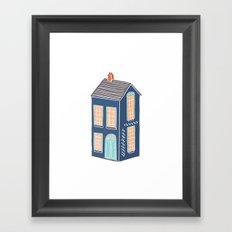 Little Townhouse Framed Art Print