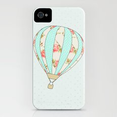 Let's fly away together - Hot air balloon iPhone (4, 4s) Slim Case