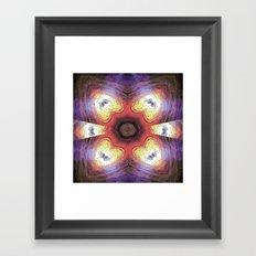 Internal Kaleidoscopic Daze- 7 Framed Art Print