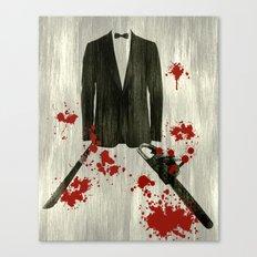 Smoking kills! Canvas Print