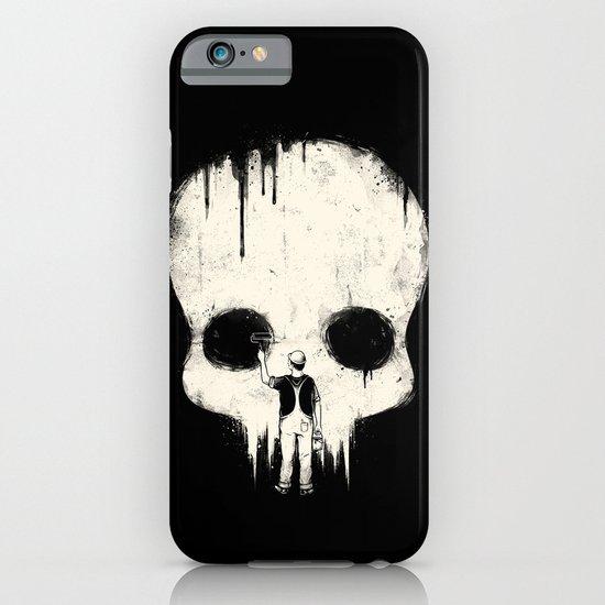 Paint it Black iPhone & iPod Case