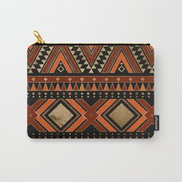 Aztec Ethnic Pattern Art N7 Carry-All Pouch
