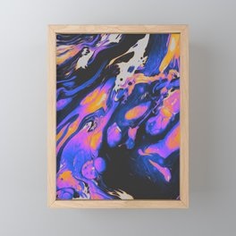 FIRED UP & FRUSTRATED Framed Mini Art Print
