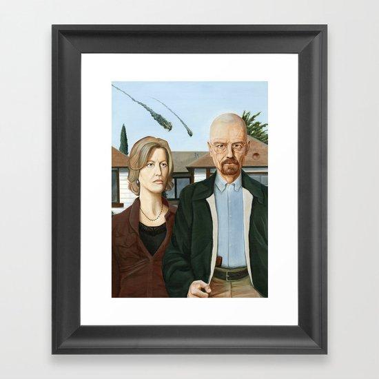 The Heisenbergs Framed Art Print