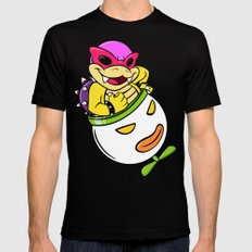 SUPER SMASH BROS: Roy's Our Boy! (NO TEXT) MEDIUM Black Mens Fitted Tee