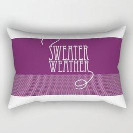 Sweater Weather... Rectangular Pillow